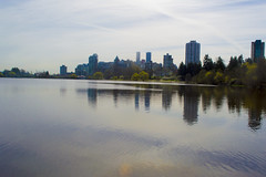 Lost Lagoon 3, Stanley Park (TheTravller) Tags: vancouver travel river water lake stanleypark lostlagoon skyline city view