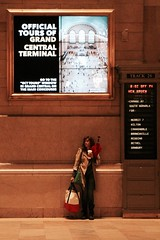 meet you under the sign (Towner Images) Tags: ny nyc us usa towner manhattan townerimages newyork bigapple building architecture design city urban america grandcentral grandcentralterminal station rail railway light lighting illumination poster sign signage wait waiting newhaven