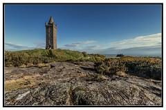 Scrabo Tower (D.K.o.w) Tags: scrabotower newtownards ardspeninsula tower bluesky countydown canon7dmkii landscape northernireland sigma 1020