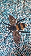 Bee - Battersea Arts Centre (Edey) Tags: battersea bee mosiac bac
