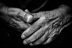 Hands (Saman A. Ali) Tags: streetphotography blackwhite hands skancheli
