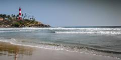 Let  there be Light (anubhavarunraj) Tags: arabiansea ocean beach india kerala kovalam sea lighthouse