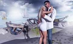 Fotis and Khanada (Roy Mildor - I am how I am !) Tags: roymildor sl secondlife photography love couple people romantic nature profile