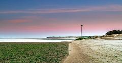 Low Tide (nicklucas2) Tags: lowtide groyne mudeford hengistburyhead sea seaweed