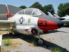 """North American T-2A Buckeye 2 • <a style=""""font-size:0.8em;"""" href=""""http://www.flickr.com/photos/81723459@N04/33782681924/"""" target=""""_blank"""">View on Flickr</a>"""