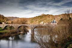 Bridge of Ambialet #explore (Fabien Georget (fg photographe)) Tags: bridge pont ambialet water monastère longexposure landscape paysage sky ayezloeil beautifulearth bigfave canoneos600d canon elitephotography elmundopormontera eos fabiengeorget fabien fgphotographe flickr flickrdepot flickrunited georget geotagged flickunited longue mordudephoto nature paysages perfectphotograph perfectpictures wondersofnature wonders supershot supershotaward theworldthroughmyeyes shot poselongue photography photo greatphotographer french monument bluehour granit sunset slowshutter blue hour heure bleue albi tarn eau waterfall waterscape