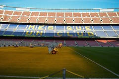 Camp Nou 51 (Seán Creamer) Tags: barcelona spain campnou football soccer uefa catalonia iniesta messi fcbarcelona ladislaokubala ballondor championsleague europeancup goldenboot valdés xavi puyol guardiola cruyff ramos mésqueunclub laliga