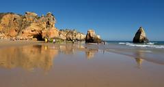 Algarve  ..........    Explore !! (Geziena) Tags: portugal algarve kust strand zee atlantische oceaan rots water blauw explore