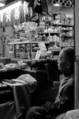Shopkeeper (sam.naylor) Tags: street shop food shopkeeper chef stall stand market kyoto japan asia