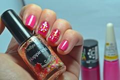 Esmaltação das corujas: Indie + Desafio dos Clássicos #9: Rio Doce. (Raíssa S. (:) Tags: esmalte unhas nails nailpolish naillacquer nailart glitter colors penélopeluz pink rosa impala laccor cremoso creamy corujas