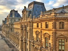 Paris  France ~ Louvre Museum ~ Historic Monument (Onasill ~ Bill Badzo ~ Enough ~ OFF) Tags: the musée du louvre museum french largest world onasill historic site travel mustsee tourist monument paris france landmark caryatids female statue mural capitol city palace fortress philip i frenchkings francis historicmonument historical architecture
