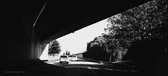 De salida... (ojoadicto) Tags: tunel blackandwhite blancoynegro contrast contrastes ciudad city artisticphotography
