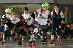 2016-06-04 Whitewood Block Party Game 4_013 (Mike Trottier) Tags: blockparty canada derby miketrottier miketrottierrollerderbyphotography rollerderby saskatchewan straightjackets whitewood redneckbetties swiftcurrent can