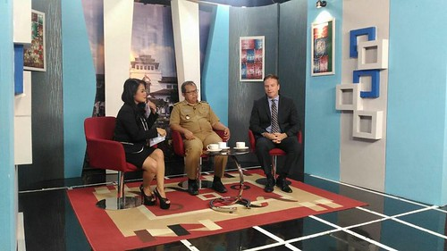 Interview with Kompas TV, National television