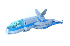 CS Aquitaine (Masked Builder) Tags: lego starfighter moc scifi space