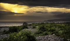 Luce Bay (TrotterFechan) Tags: sunset waterscape bay