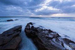 An Elegant Lie (sleepnever) Tags: ocean waves soft rocks clouds sky evening sunset longexposure beach smooth landscape lajolla sandiego california 1635mm robertwatts