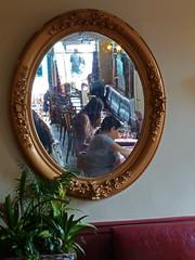 Mon Paris. (caramoul25) Tags: paris montmartre déjeuner miroir reflets caramoul25