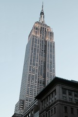 The Empire State Building at dusk (Towner Images) Tags: us usa ny nyc towner manhattan building architecture townerimages dusk empirestate city newyork bigapple