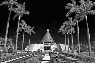 Shrine Our Lady of Charity,  3609 South Miami Avenue, Miami, Florida, USA / Architect: Jose Perez Benitoa / Completed: 1967 / Architectural Style: Miami Modern (MiMo)