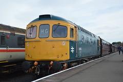 33035 (Lewis_Hurley) Tags: sulzer railroad severnvalleyrailway railway rail england uk locomotive loco severnvalley preserved svr britishrail br brblue 33035 class33 33
