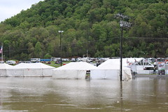 Another picture of the flooding of the Holston River in Bristol, Tennessee (Hazboy) Tags: hazboy hazboy1 tennessee bristol motor speedway auto car racing nascar food city 500 monster series april 2017 race racetrack