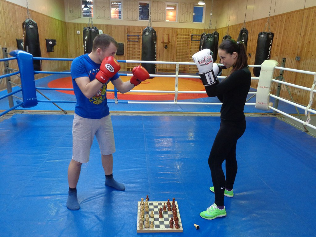 Шахбокс: шахматы и бокс