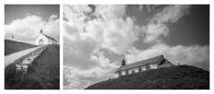 Tumulus et chapelle Saint-Michel (floguill) Tags: leica ic elmar 3535 35mm fp4 lc29