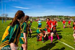 2017:03:25 14:30:16 (serenbangor) Tags: 2017 aberystwyth aberystwythuniversity bangoruniversity seren studentsunion undebbangor varsity rugby rugbyunion sport womens