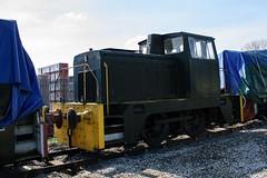 D1345 Peak Rail 090417 (Dan86401) Tags: d1345 hudswellclarke 040 040dh dieselhydraulic shunter peakrail