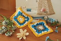 Drops Spring lane cal (La Borda del Crochet) Tags: springlanecal manta verano crochet ganchillo handmade