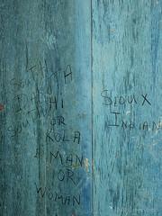 Graffitti Alcatraz Citadel b3166n (Al Greening) Tags: alcatraz ggnra graffiti sanfrancisco