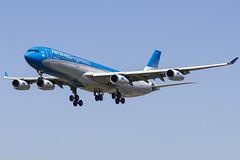LV-FPU | Aerolineas Argentinas | Airbus A340-313 | CN 170 | Built 1997 | BCN/LEBL 28/03/2017 | Previous regs G-CHSJ EC-KSE (Mick Planespotter) Tags: aircraft a340 2017 nik colorefexpro4 barcelona lvfpu aerolineas argentinas airbus a340313 170 1997 bcnlebl 28032017 gchsj eckse bcn lebl