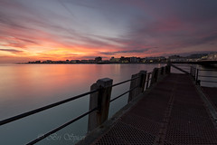 From the jetty (Through Bri`s Lens) Tags: sussex worthing worthingpier jetty sunset skies colours brianspicer canon5dmk3 canon1635f4