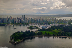 Downtown Vancouver and Stanley Park via Helijet (david byng) Tags: helijet spring vancouver 2017 canada britishcolumbia city pacificocean ca