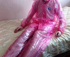 satinbed-6 (coatrPL) Tags: raincoat pvc rainwear fetish shiny przeciwdeszczowe rainsuit