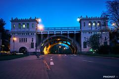 Evening in Powisle, Warsaw III (pinionist) Tags: warsaw warszawa poland europe night city lights sony a6000 sonyalpha longexposure magichour