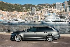 Audi RS6 C7 (Nico K. Photography) Tags: audi rs6 c7 avant 2015 grey matte luxurycustom photoshooting harbor nicokphotography monaco