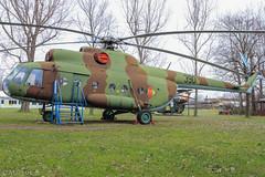 Luftfahrt- und Technik-Museumspark Merseburg (EDDP-Spotter) Tags: 390 eastgermanairforce luftfahrtundtechnikmuseumsparkmerseburg msn0223 mil milmi8t mil8 eddpspotter ми8 мил