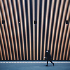 Jog on (Olly Denton) Tags: lines wall running stripe mask pedestrian design interior publicspace iphone iphone6 6 vsco vscocam vscotokyo vscojapan ios apple mac shotoniphone tokyointernationalforum 東京国際フォーラム tokyo 東京 japan 日本