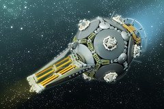 MOLNIYA - I (Legohaulic) Tags: lego space starfighter russian