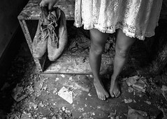her grandpa's old shoes...(Elisia-house in the woods) (Aces & Eights Photography) Tags: abandoned abandonment decay ruraldecay oldhouse abandonedhouse elisia