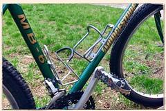 Vintage MTB (DjD-567) Tags: vintage 1993 bridgestone mb6 green mountainbike rigid