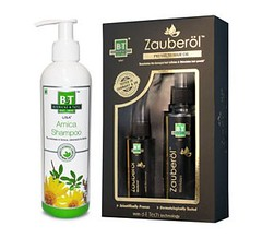 Arnica Zauberol Combo from Schwabe India - Best Hair oil for Hair Growth (Schwabe India) Tags: best hair oil for growth