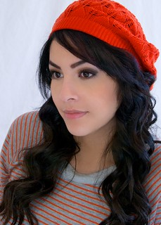 Brunette in Red Beret