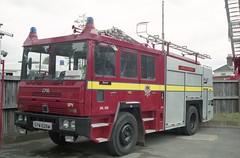 GYW 628W (markkirk85) Tags: shelvoke drewry spv wx cfe london fire brigade in londons burning livery b25 blackwall dpl628 engine appliance e441 e442