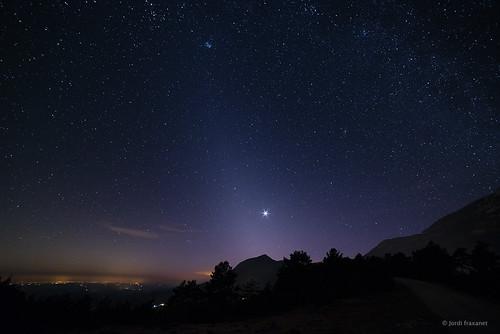 Llum zodiacal i Venus