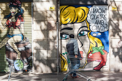 Street Photography Tours, Barcelona (Geraint Rowland Photography) Tags: raval barcelona catalonia streetphotography streetart streetphotographytoursbygeraintrowland geraintrowlandphotography wwwgeraintrowlandcouk streetartinbarcelona light photographyskills learnphotography graffiti art paintonwalls canonstreetphotography 50mm candid expression streetphotographybarcelona streetphotographytours travelphotographytoursbygeraintrowland