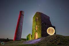 129/365 Magpie Mine ([inFocus]) Tags: photoaday longexposure dark denissmith project365 long sphere ball 3652017 lightpainting painting 365 year creative night exposure orb magpiemine