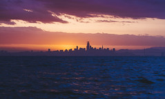 San Francisco (Davor Desancic) Tags: sanfrancisco california alameda sunset bayarea ocean bay thebay